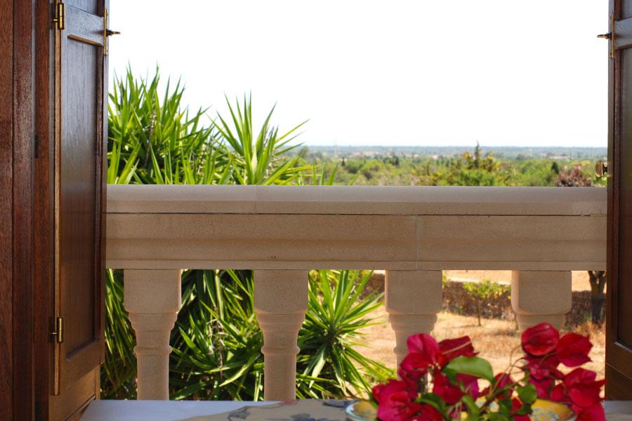 Can Paulino Mallorca - Blick vom Esstish - Studio Doni