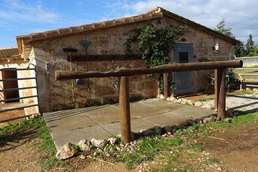 Can Paulino Mallorca - Pensionpferde Waschplatz